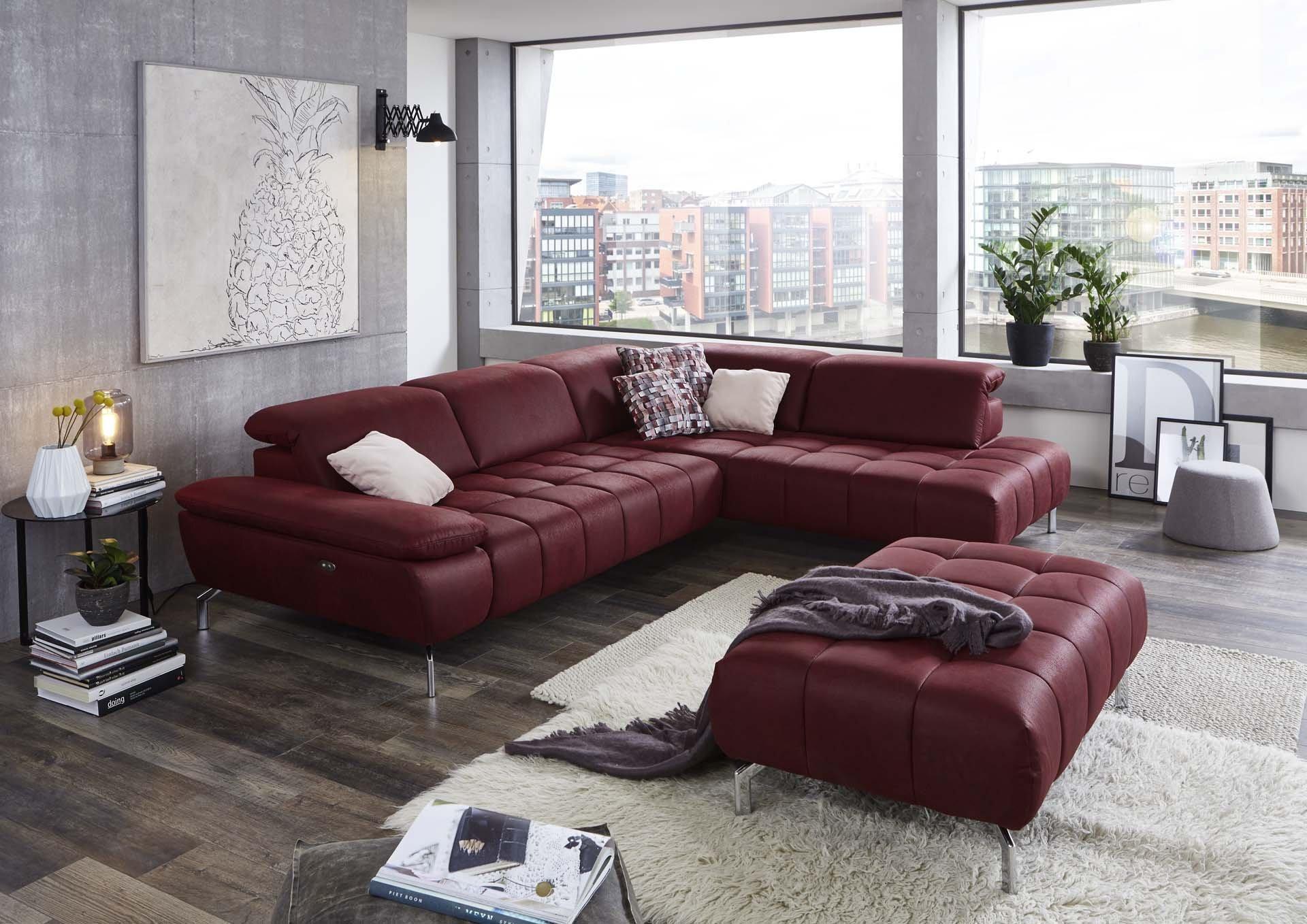 Ecksofa FERRY Vito Textil 118 x 98 x 418 cm