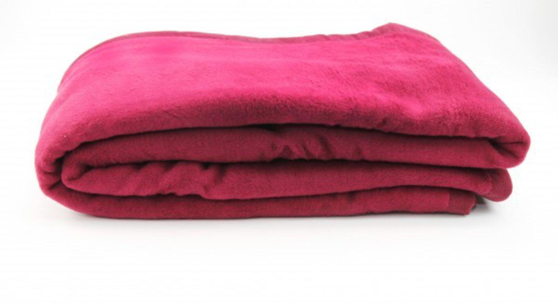 Wohndecke Casa Nova Textil rot 150 x 200 cm