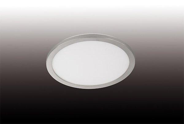 Bad-Deckenleuchte Fischer-Honsel  Metall nickel ca. 40 cm x 3 cm x 40 cm