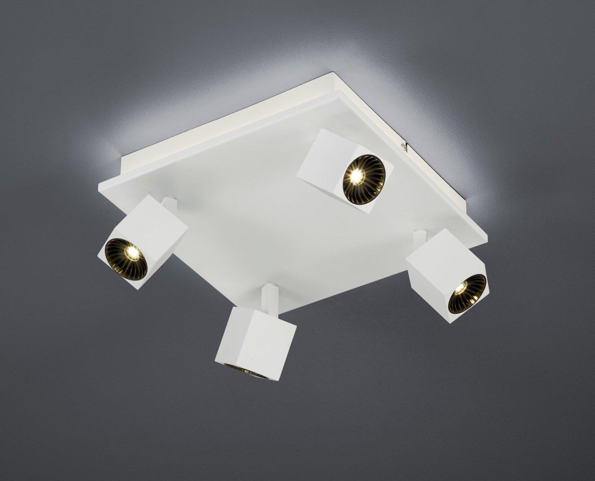 Strahler Cuba Trio Leuchten Metall 28 x 28 cm