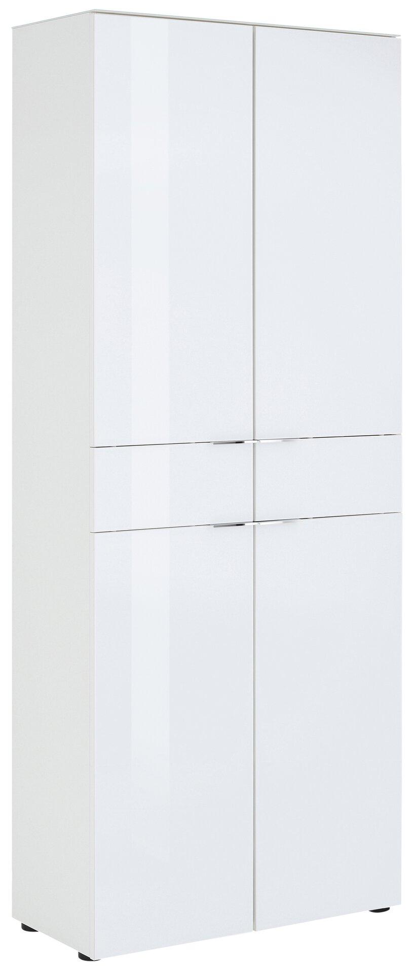 Garderobenschrank SWAG Vito Holzwerkstoff weiß 37 x 198 x 79 cm