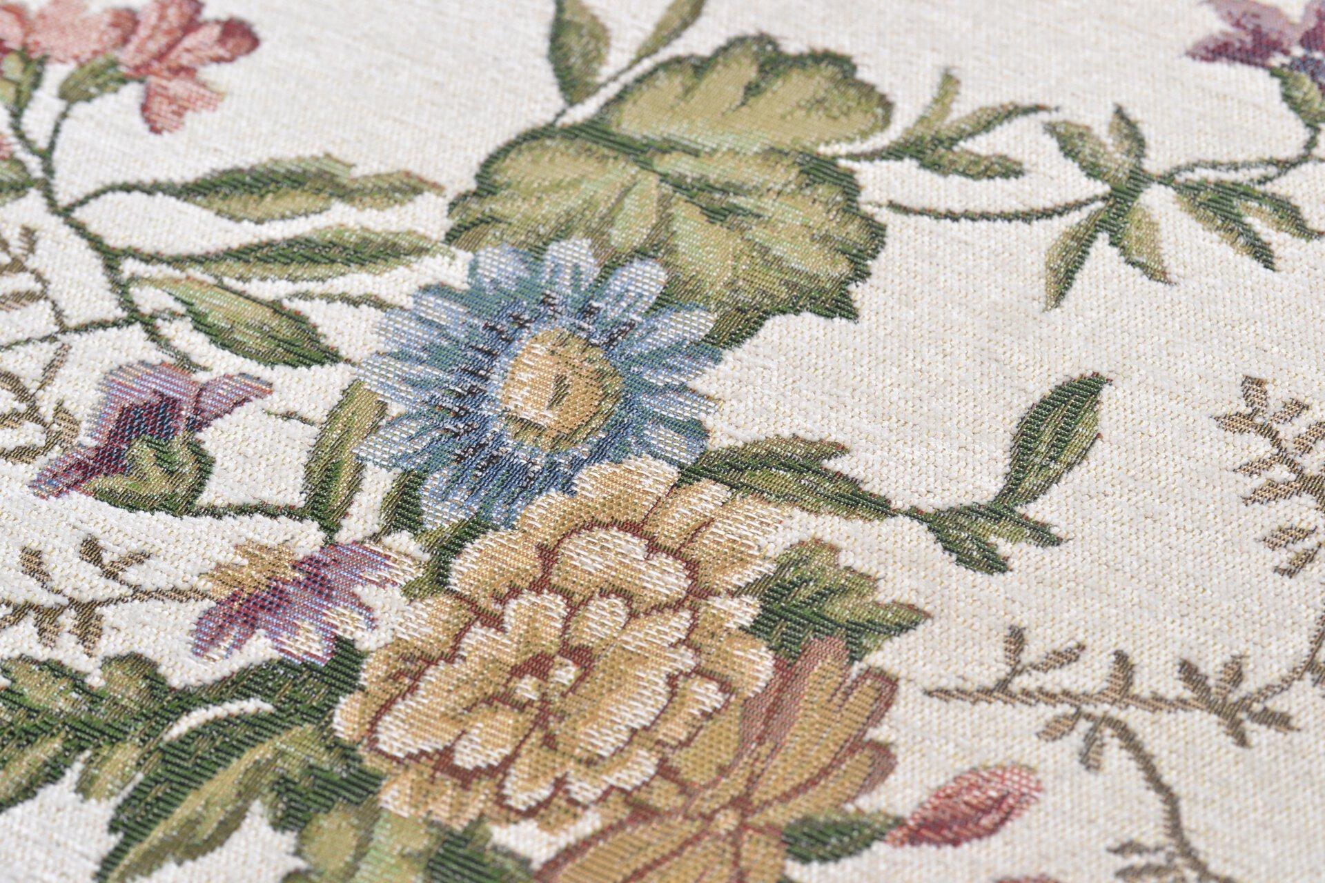 Maschinenwebteppich Flomi Theko Textil braun