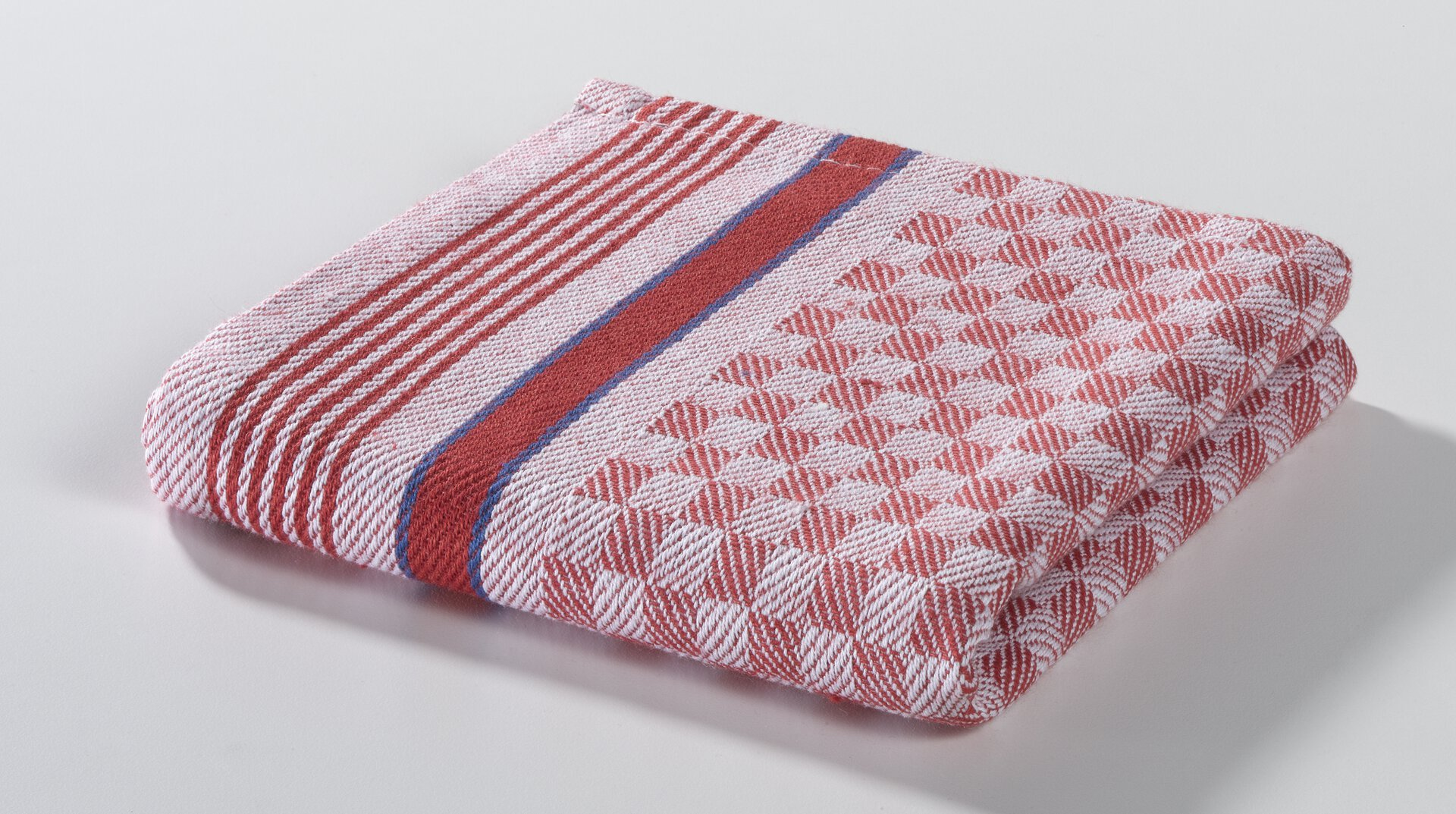 Geschirrtuch Grubentücher Casa Nova Textil rot 50 x 70 cm