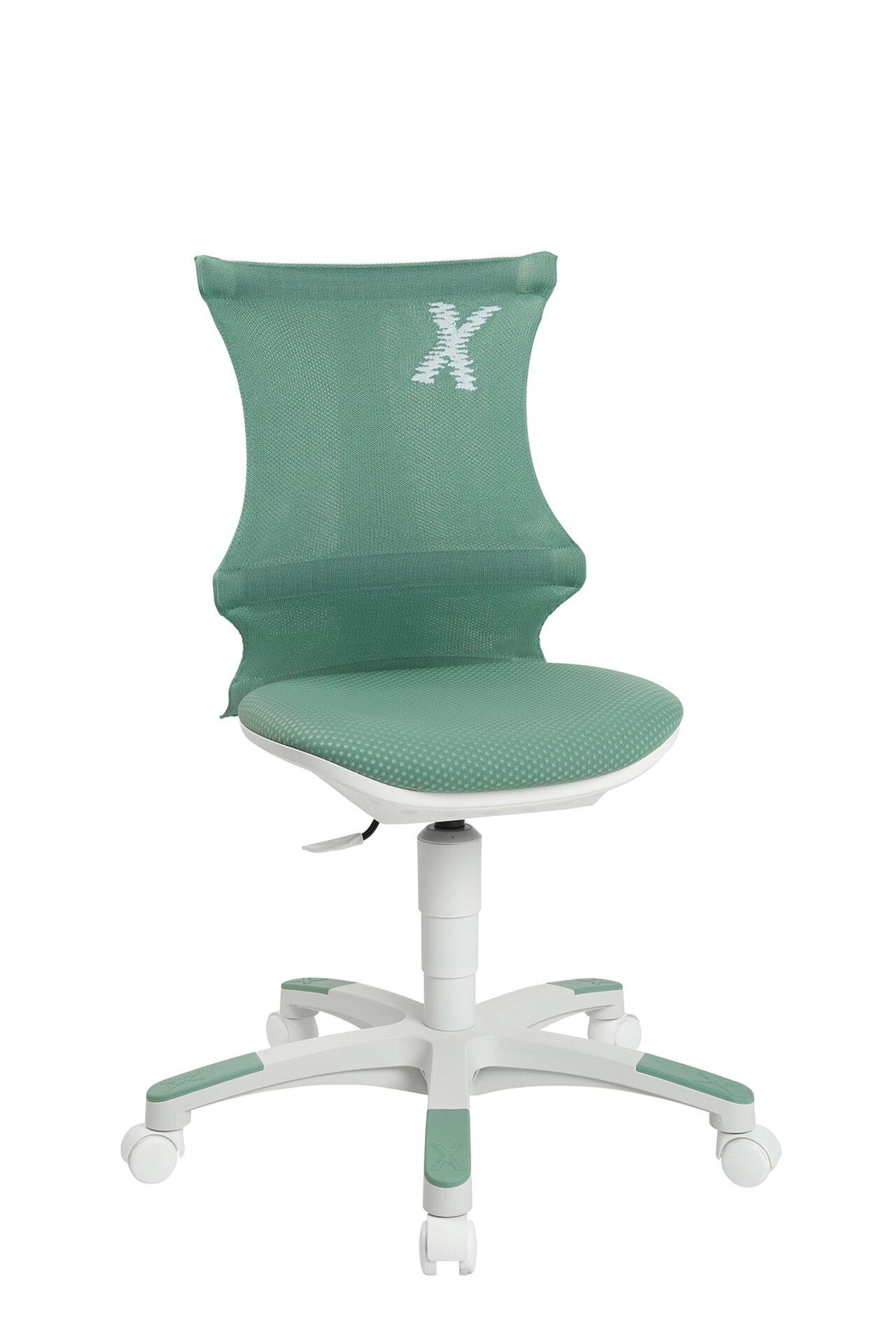 Büro-Drehstuhl SITNESS X-CHAIR 10 Topstar Textil grün 49 x 99 x 54 cm