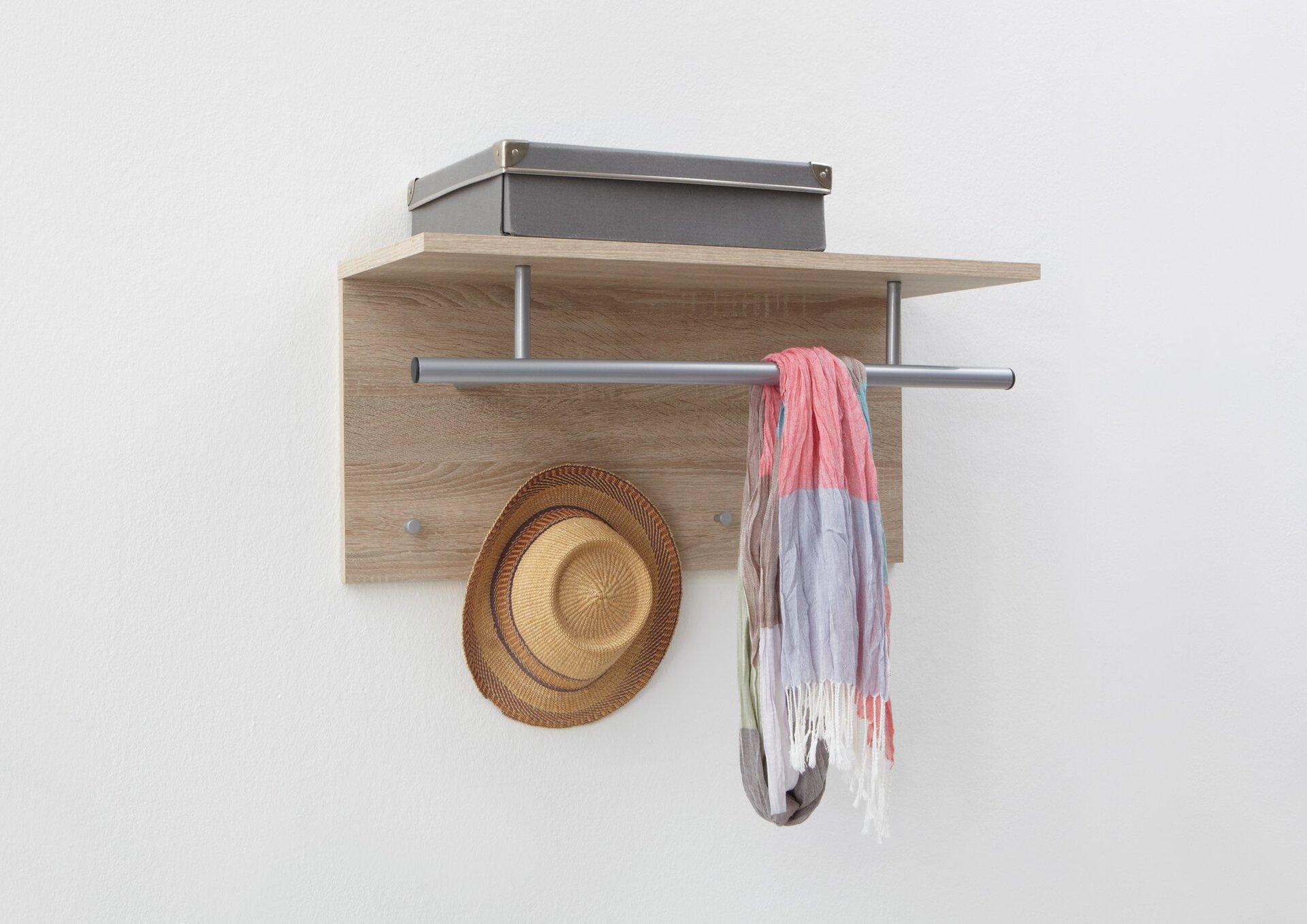 Garderobenpaneel inDoor Holzwerkstoff