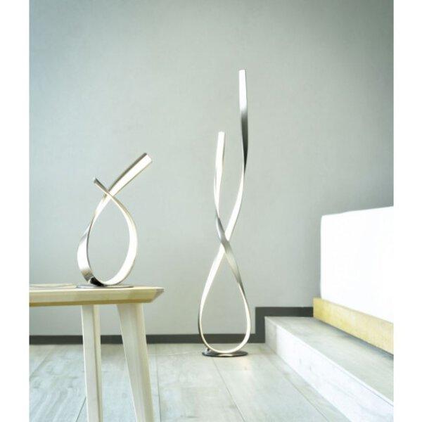 Tischleuchte Paul Neuhaus Metall stahl ca. 15 cm x 40 cm x 21 cm
