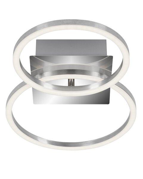 Deckenleuchte Briloner Metall chrom, alu ca. 26 cm x 8 cm x 42 cm