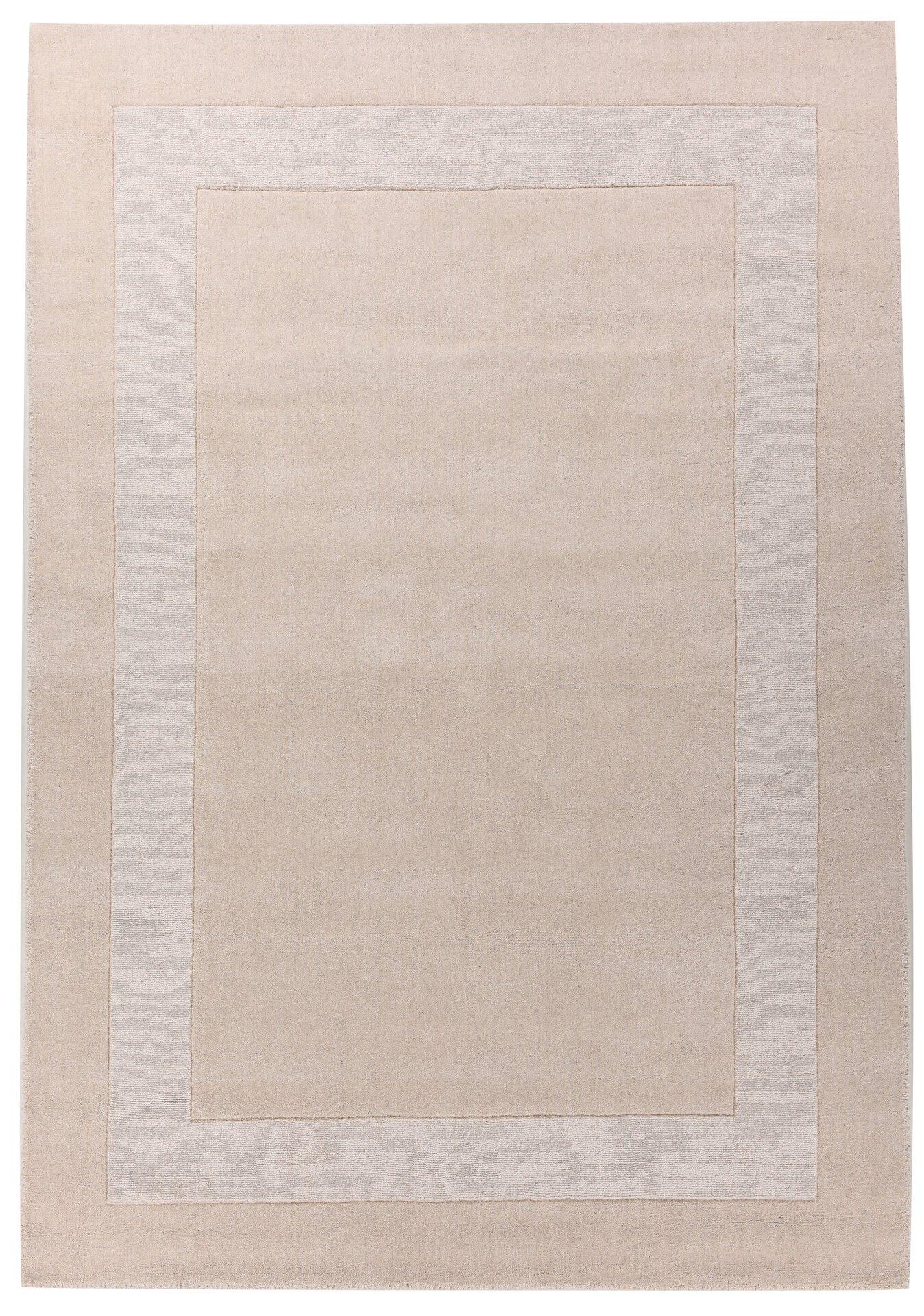 Handtuftteppich Usedom Theko Textil braun 1 x 2 cm