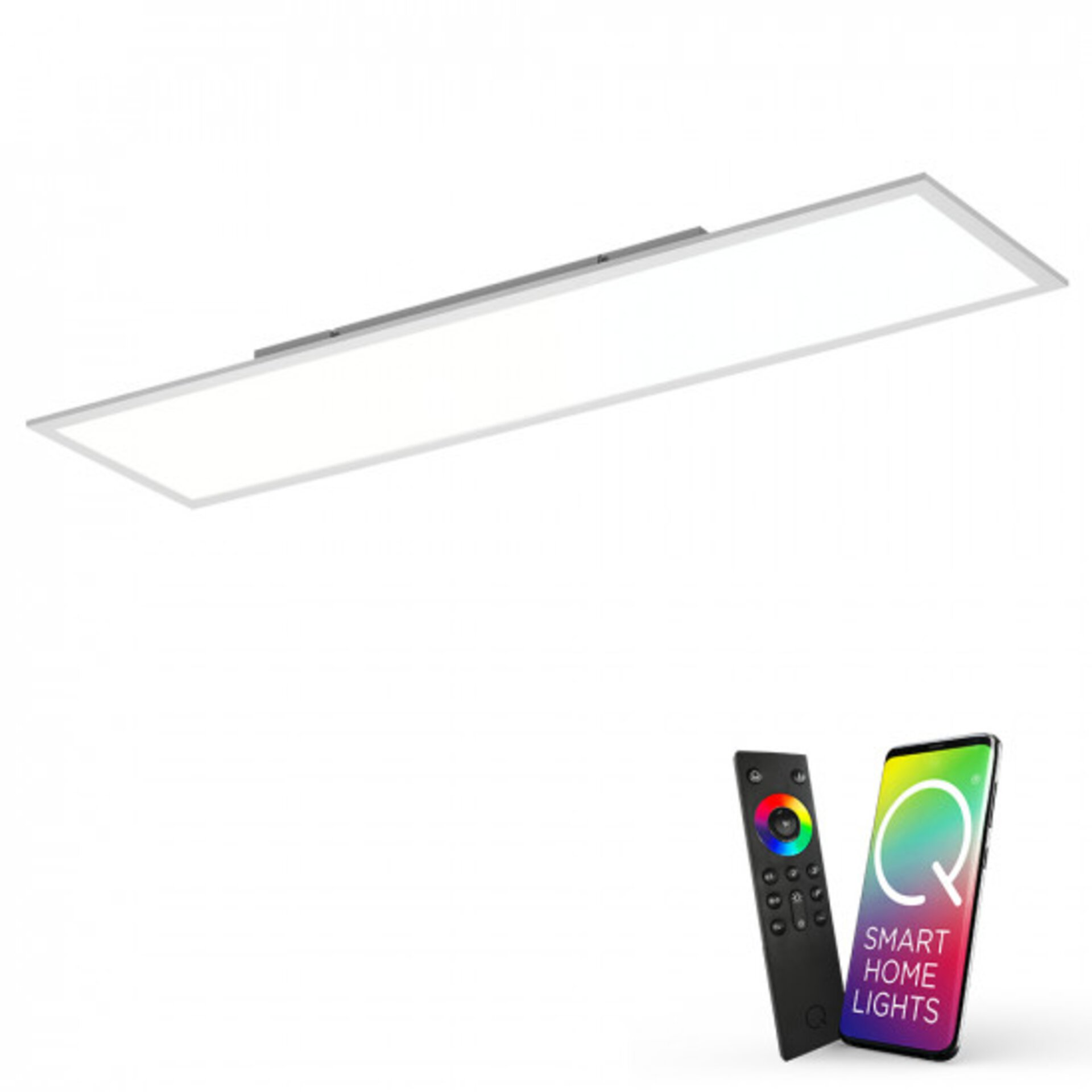 Smart-Home-Leuchten Q-FLAG Paul Neuhaus Metall 30 x 6 x 120 cm