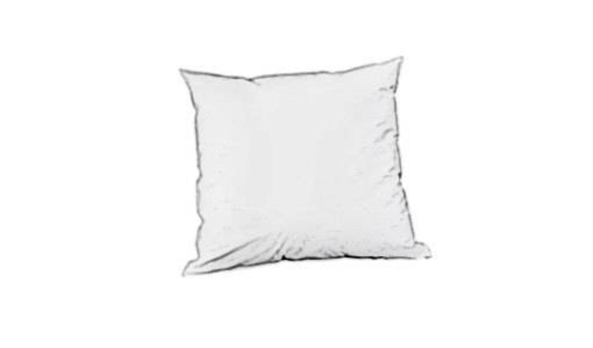Icon für Kissenfüllung ist ein einfaches, quadratisches Kissen in weißer Farbe.