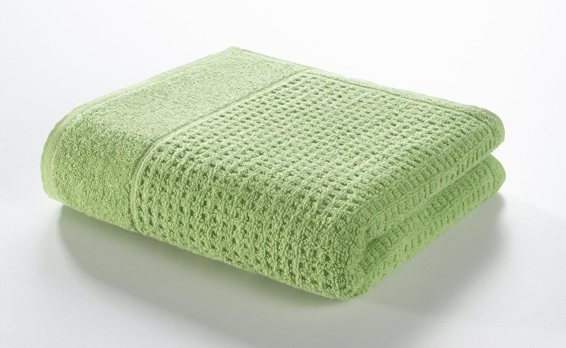 Handtuch Faro Casa Nova Textil grün 50 x 100 cm