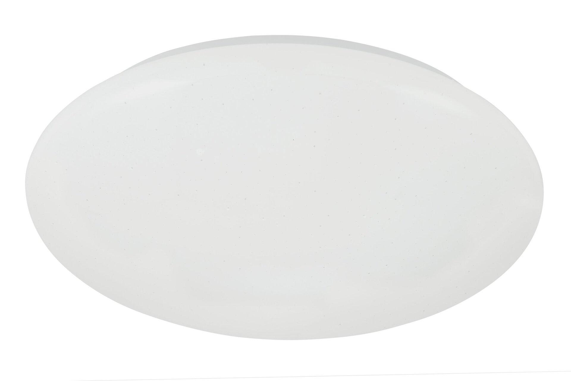 Deckenleuchte Vipe Briloner Metall weiß 38 x 7 x 38 cm