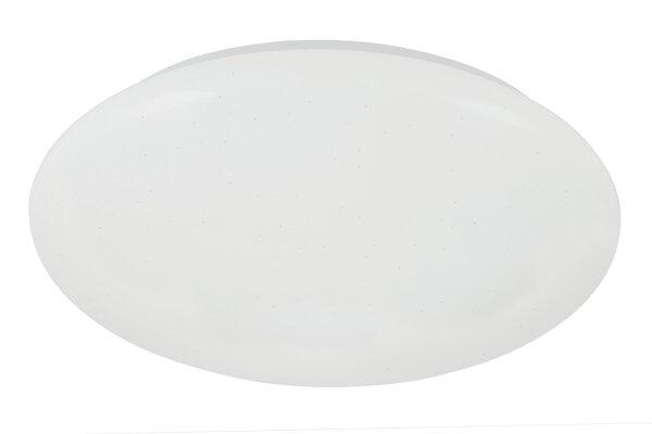 Deckenleuchte Briloner Metall weiß ca. 38 cm x 7 cm x 38 cm
