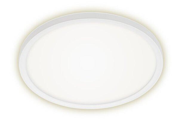 Deckenleuchte Briloner Metall weiß ca. 29 cm x 3 cm x 29 cm