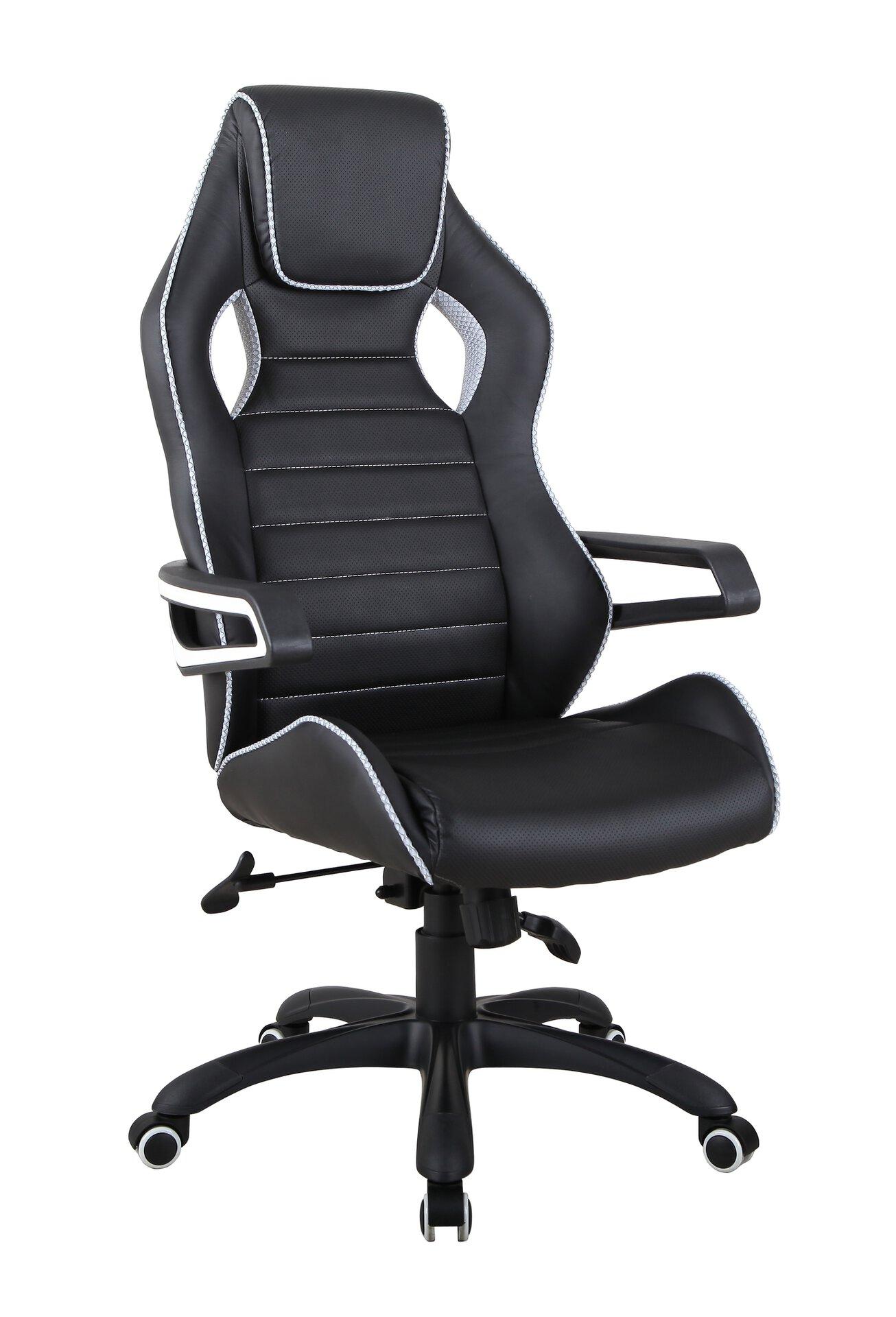 Büro-Drehstuhl CELECT Textil schwarz 65 x 132 x 64 cm