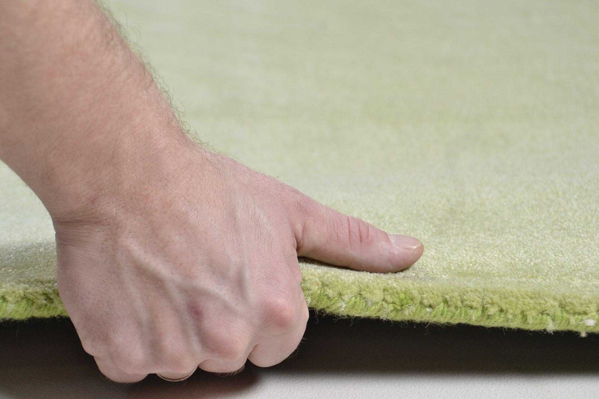 Maschinenwebteppich Melbourne 1000 Theko Textil grün 1 cm