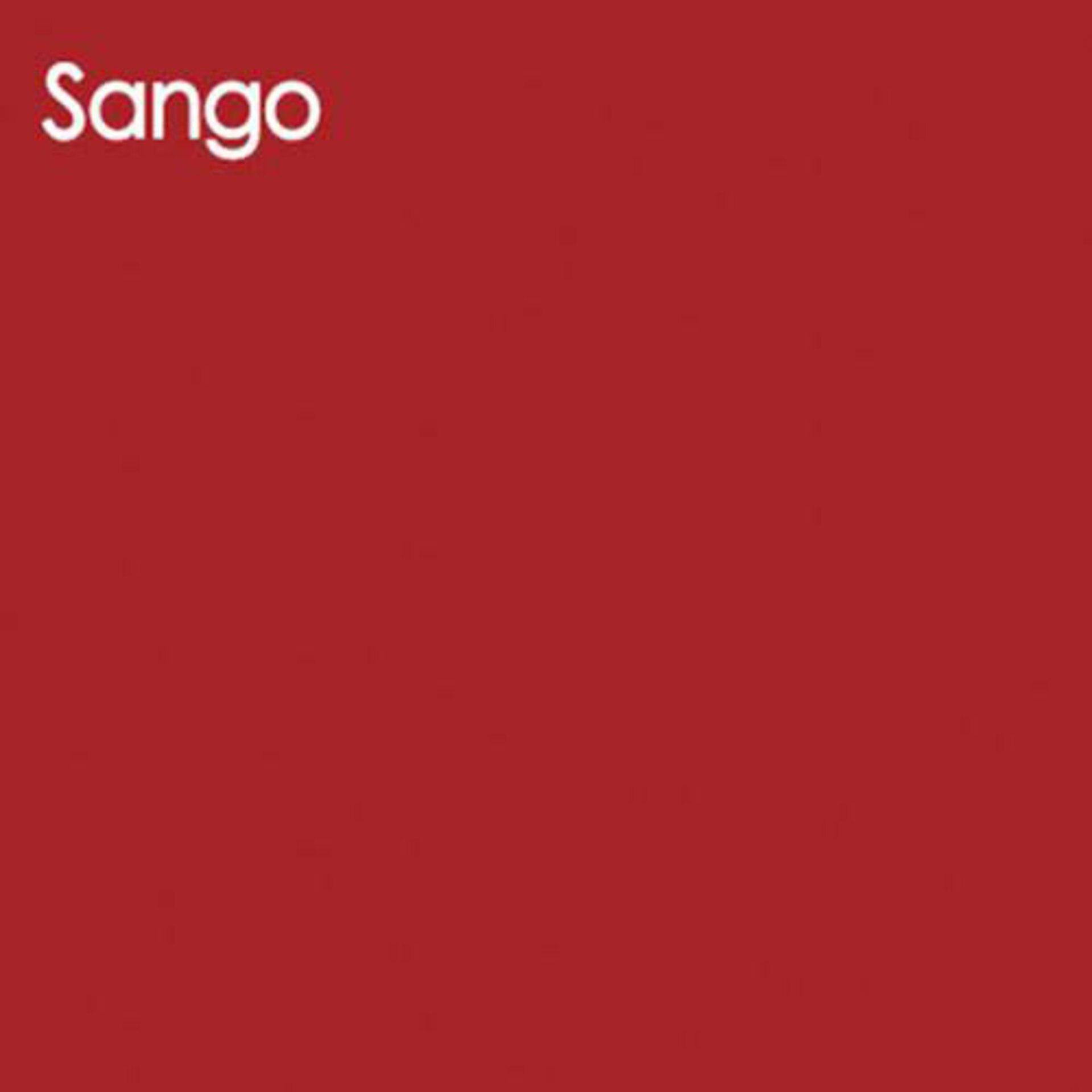Arbeitsblatte aus Glas in warmroten Sango.