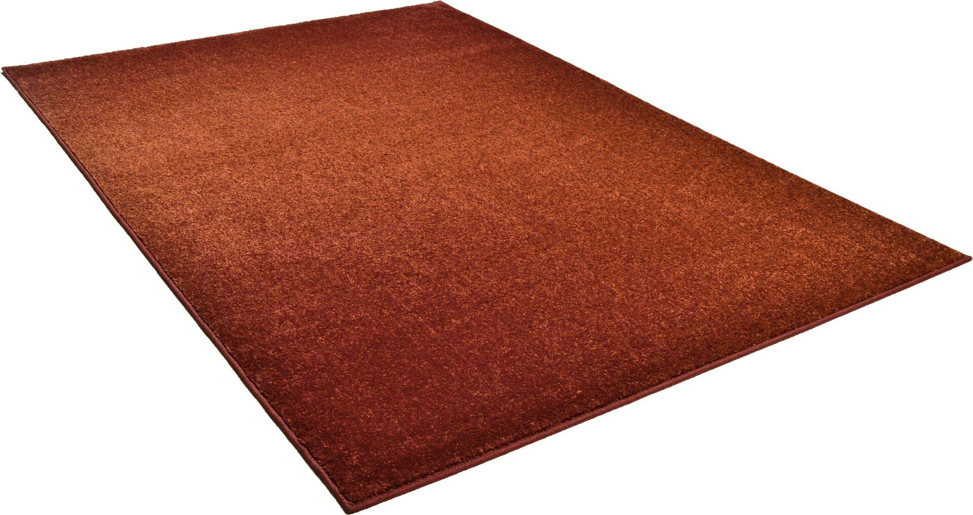 Maschinenwebteppich Renzo Theko Textil orange