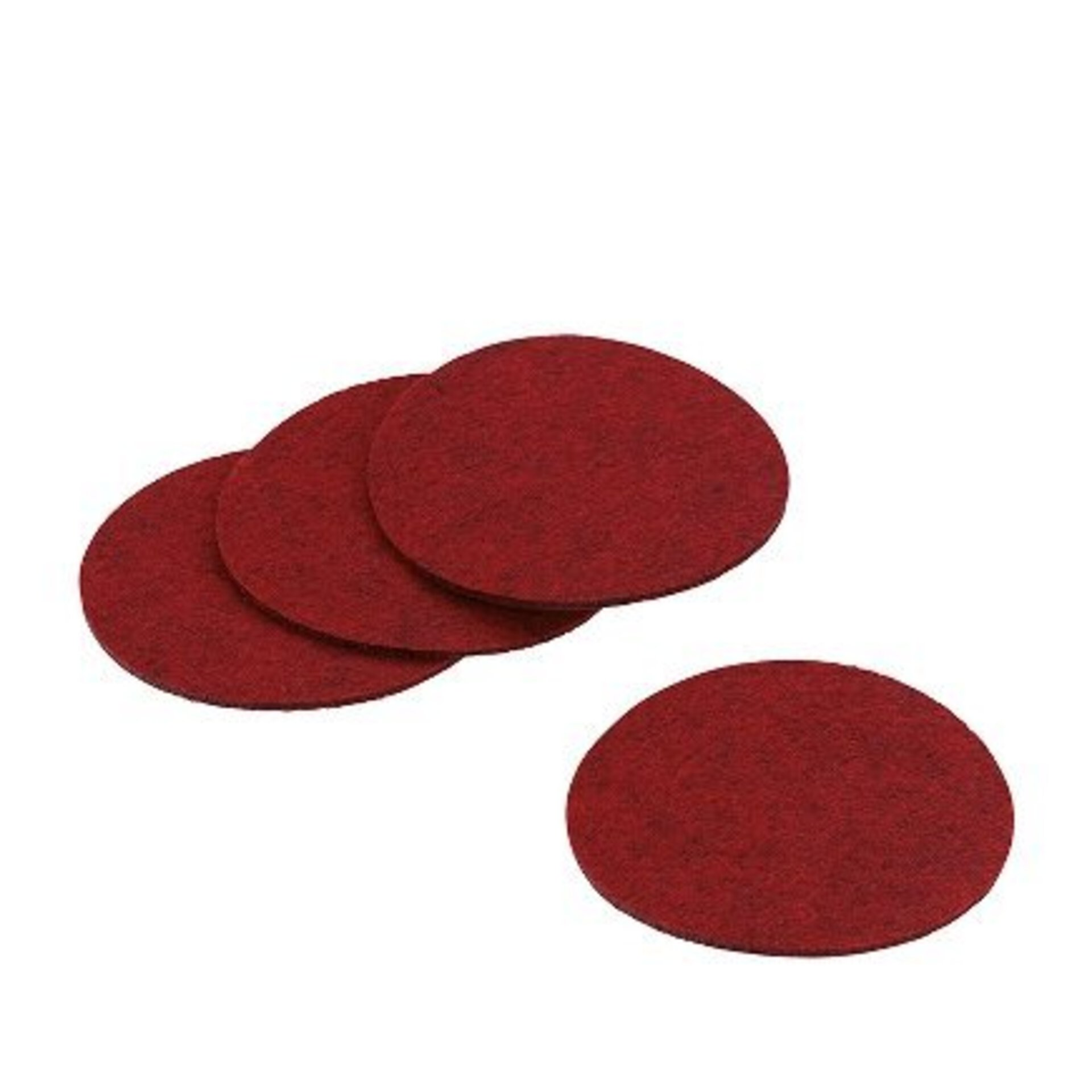 Gedeckter Tisch Alia Kela Textil rot