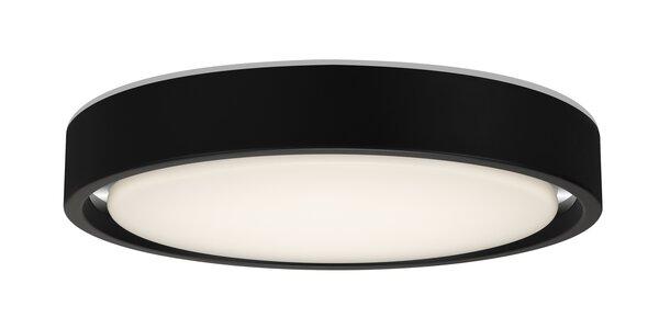 Deckenleuchte Briloner Metall schwarz, chrom ca. 36 cm x 8 cm x 36 cm