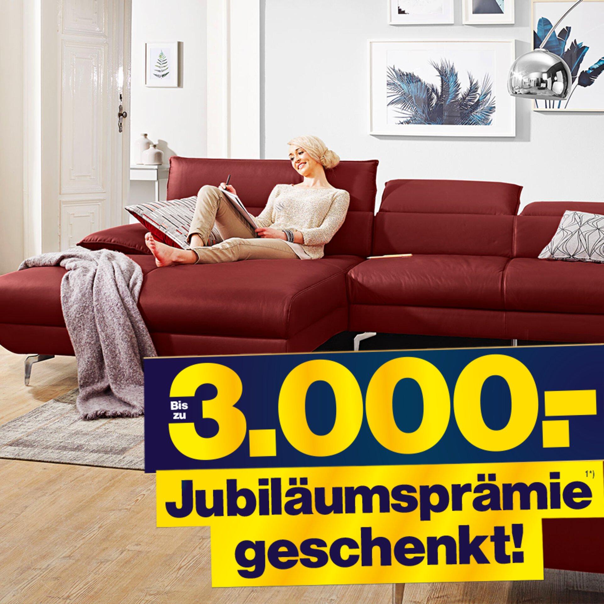 Prämie Möbel Inhofer Jubiläumsprämie Prämie geschenkt Aktion Einrichtungshaus
