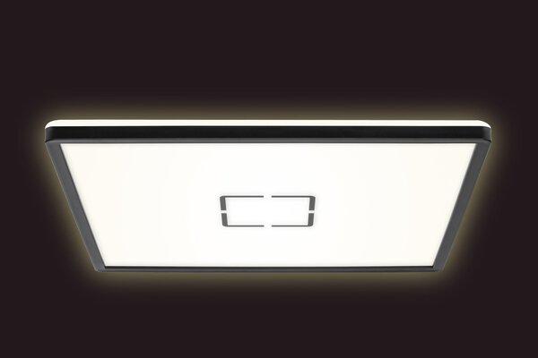 Deckenleuchte Briloner Metall schwarz,weiß ca. 42 cm x 3 cm x 42 cm