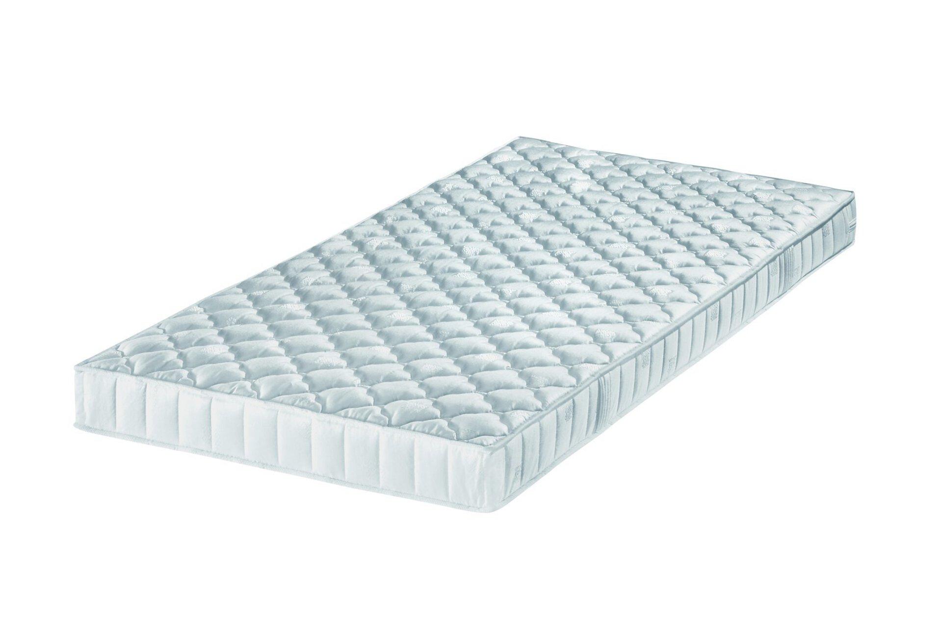 Kaltschaummatratze EURO AIR Breckle Textil weiß 200 x 12 x 90 cm
