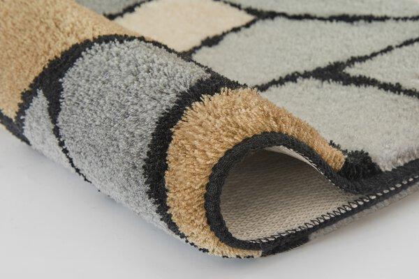 Badteppich Meusch Textil 901 anthrazit