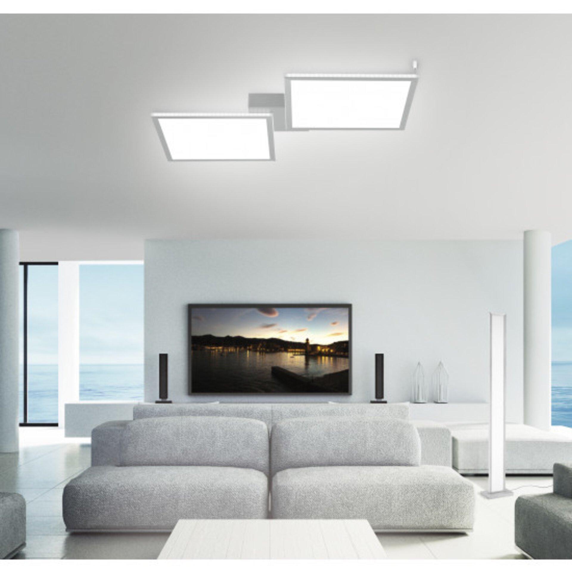 Smart-Home-Leuchten Q-ROSA Paul Neuhaus Metall 60 x 5 x 74 cm