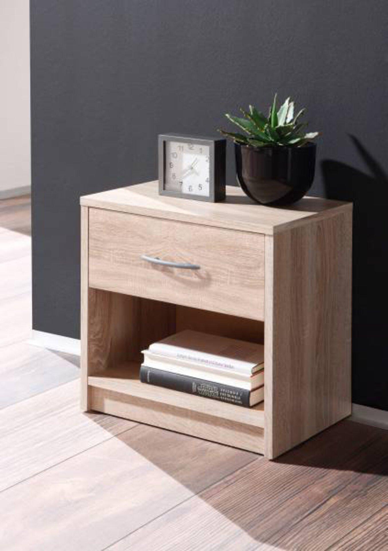 Nachttisch PEPE Dreamoro Holzwerkstoff braun