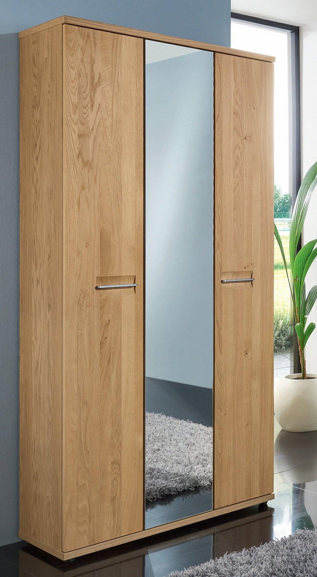 Garderobenschrank MONTANA Voss Möbel Holzwerkstoff braun 37 x 193 x 90 cm