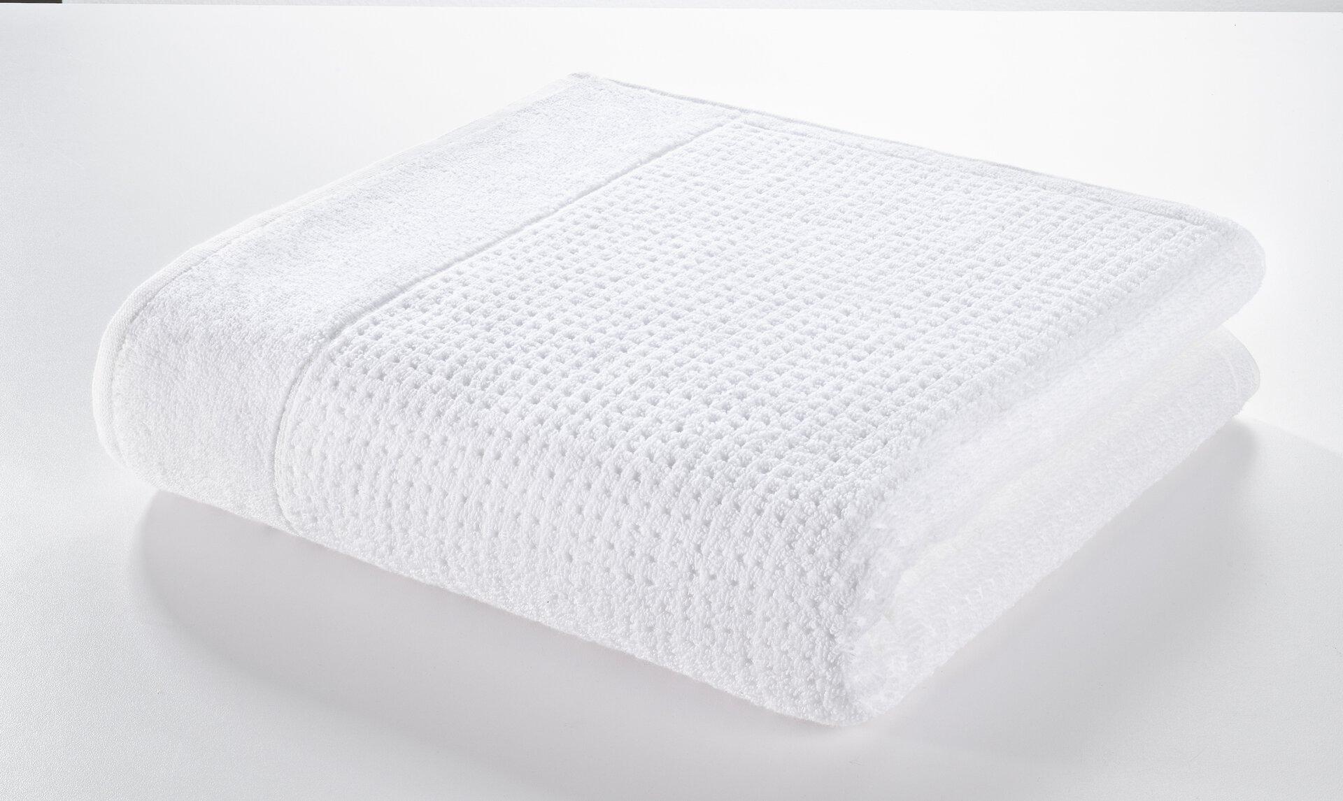 Duschtuch Faro Casa Nova Textil weiß 70 x 140 cm