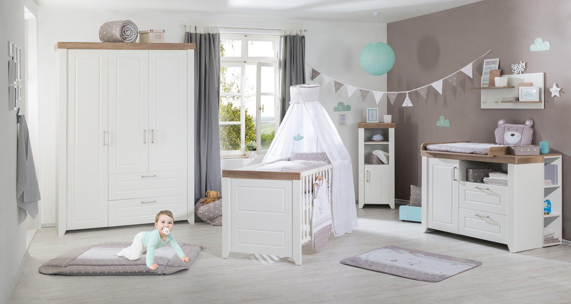 Wickelkommode SOPHIE Roba Baumann Holzwerkstoff weiß 75 x 98 x 120 cm