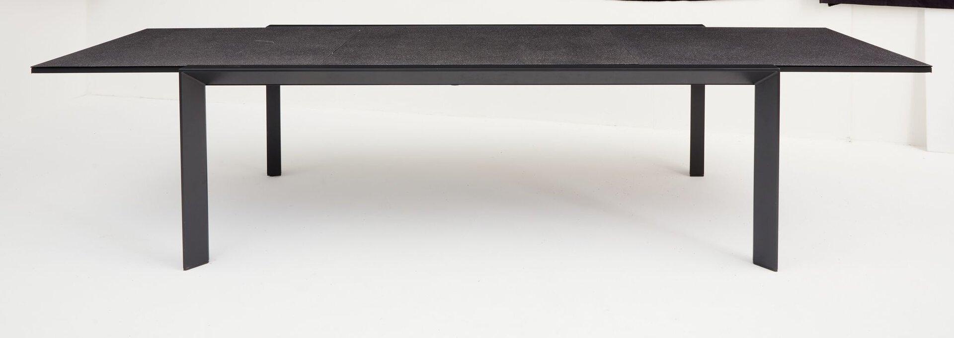 Ausziehtisch LIVORNO Outdoor Metall 107 x 75 x 220 cm