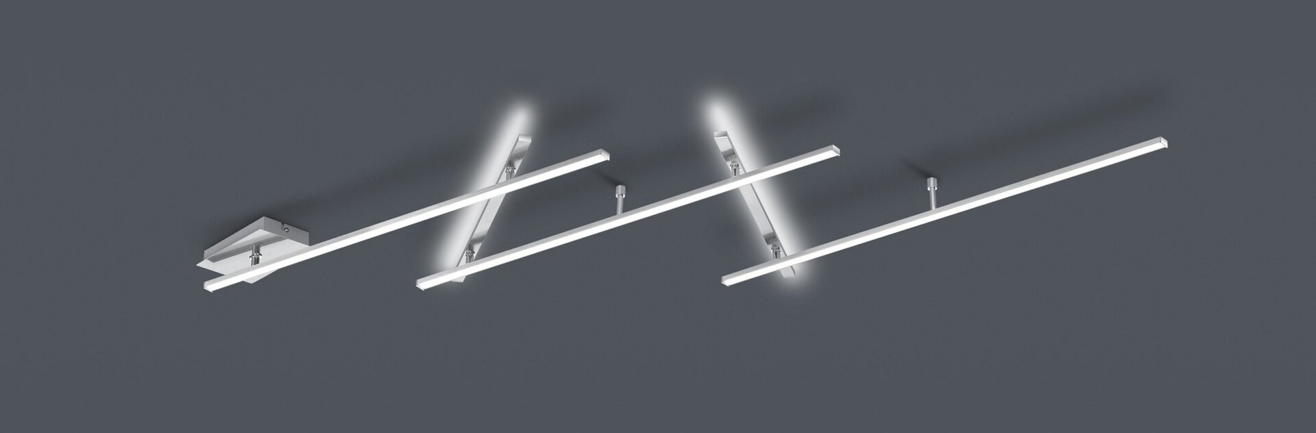 Deckenleuchte Indira Trio Leuchten Metall 6 x 245 cm