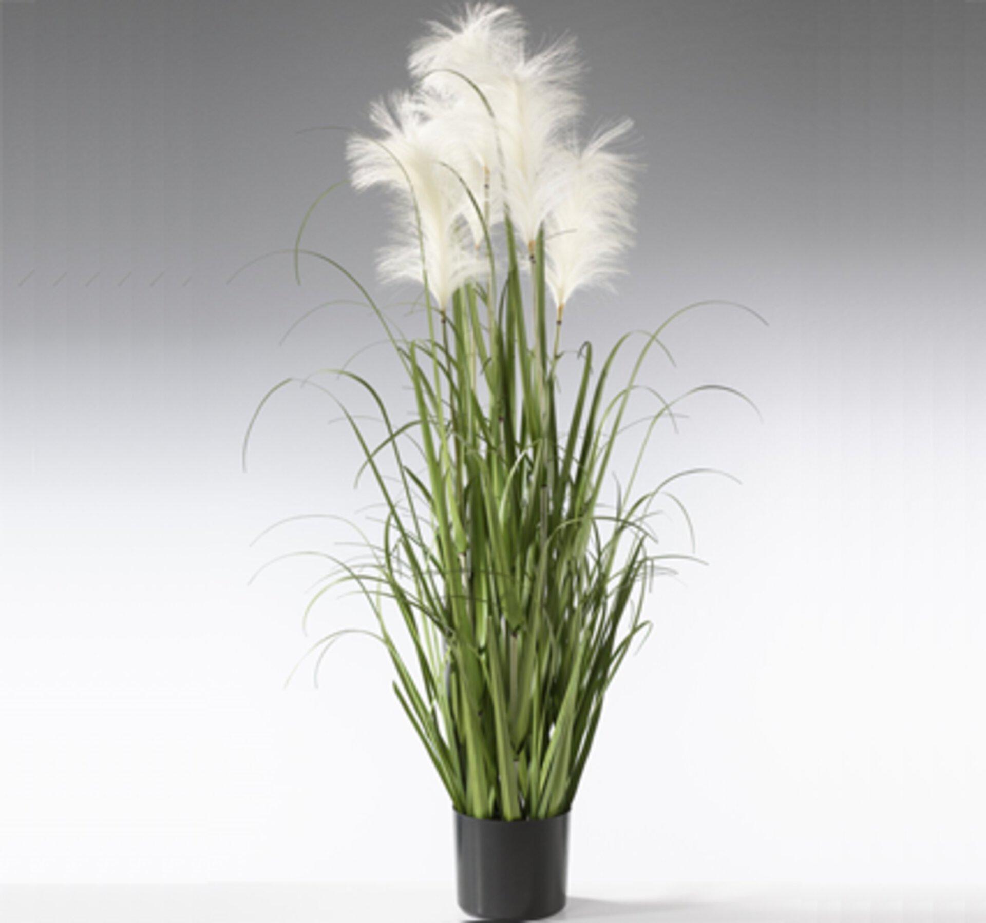Kunstpflanze Head Onion Grass