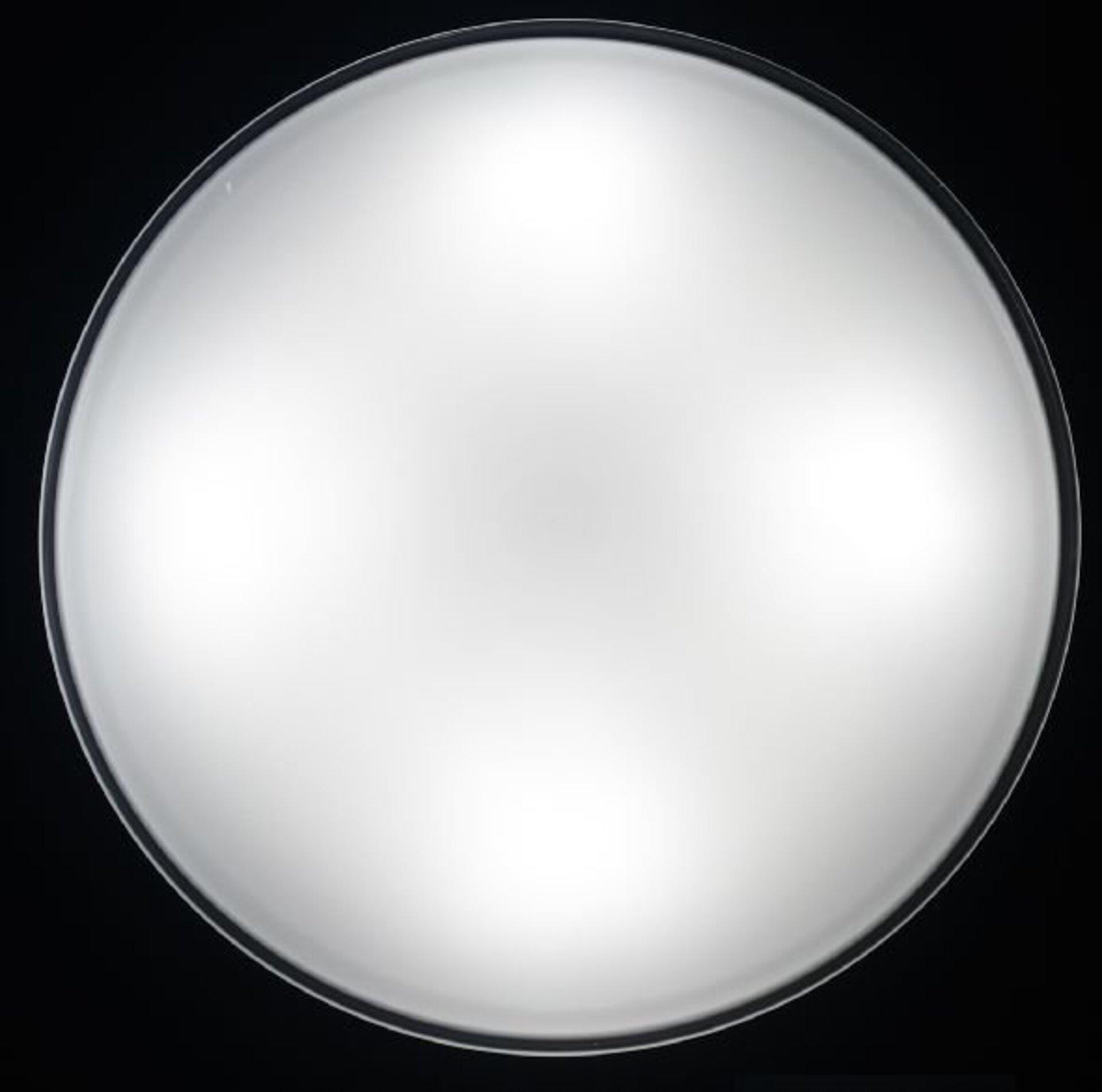 Bad-Deckenleuchte Nurglas Bankamp Glas weiß 40 x 9 x 40 cm