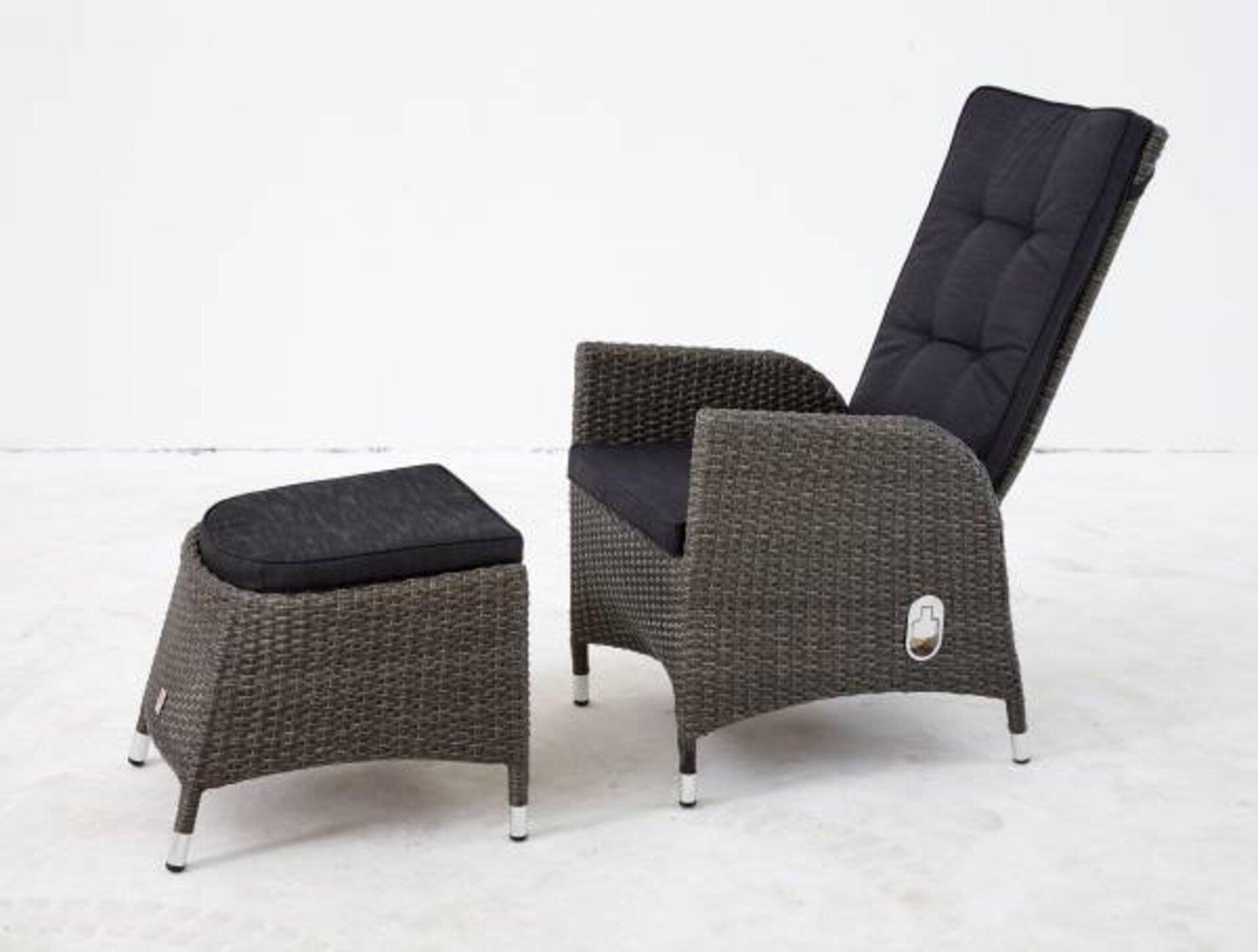 Hocker Barcelona Outdoor Textil 44 x 50 x 57 cm