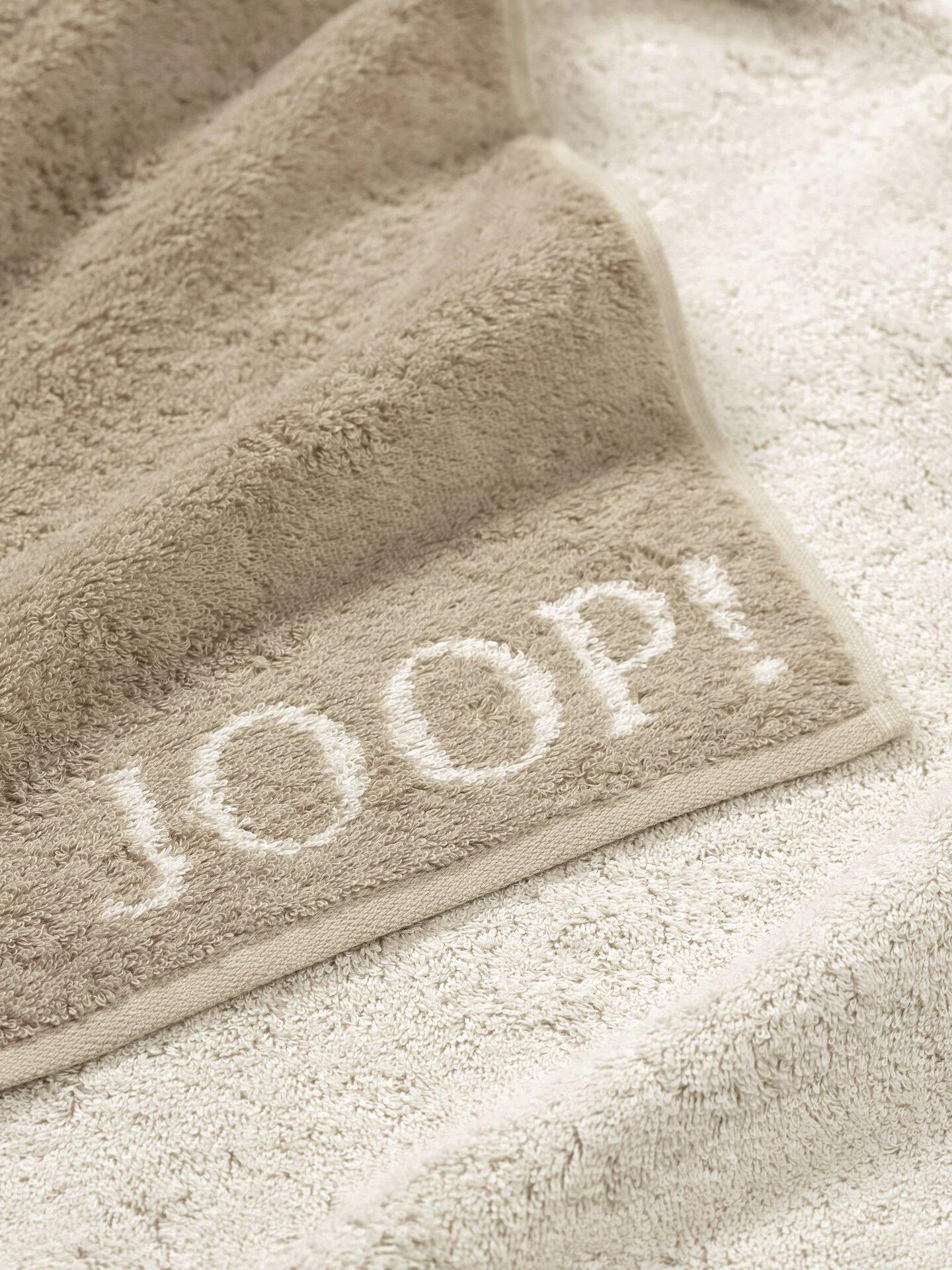 Handtuch Doubleface Joop! Textil beige