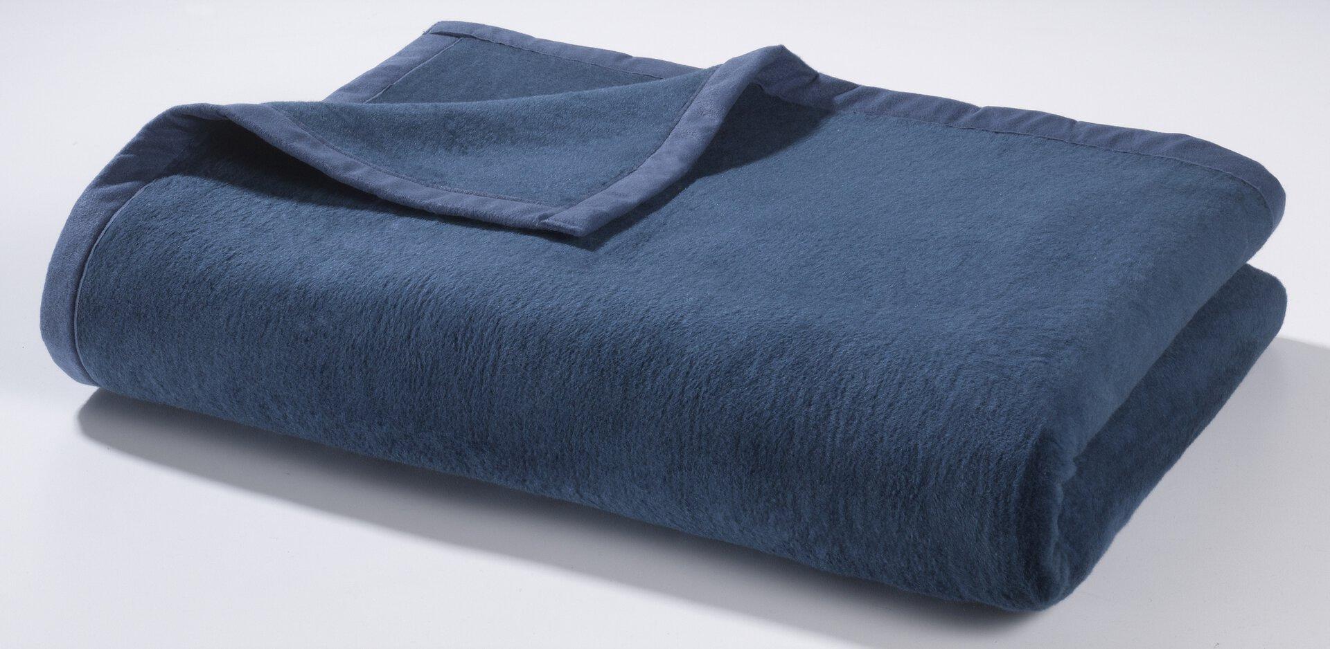 Wohndecke Casa Nova Textil Blau 150 x 200 cm