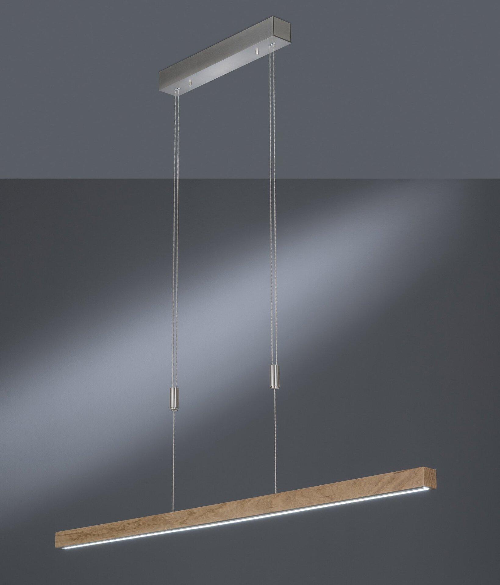 Hängeleuchte Straßburg Fischer-Honsel Holz 6 x 150 x 120 cm