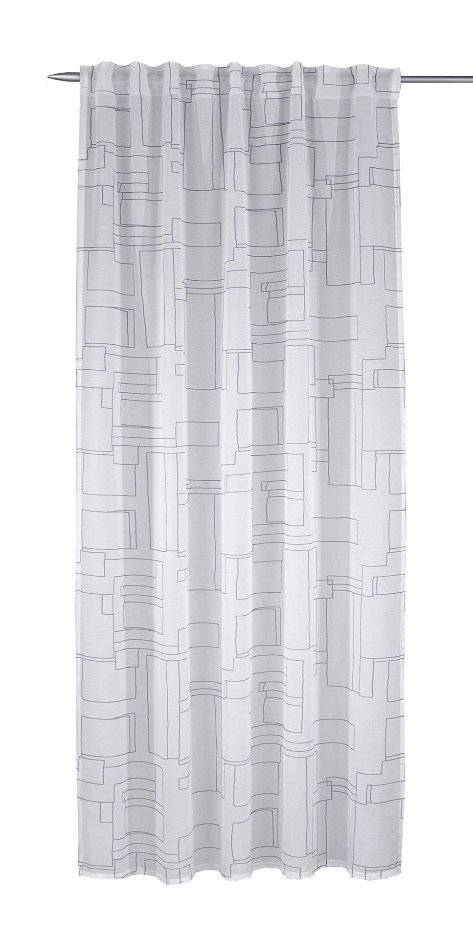 Schlaufenschal Hugo Albani Textil grau 135 x 245 cm
