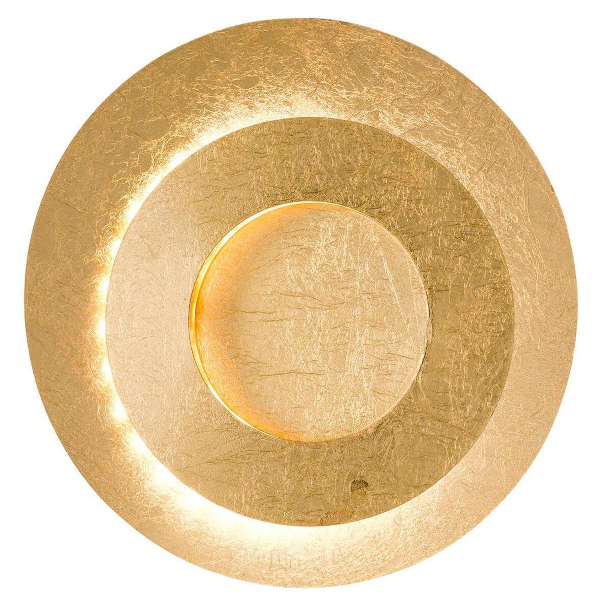 Wandleuchte Lauren Wofi Leuchten Metall 24 x 10 x 24 cm
