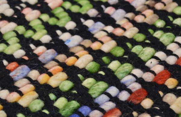 Handwebteppich Modern-Weave Theko Textil 450 terra
