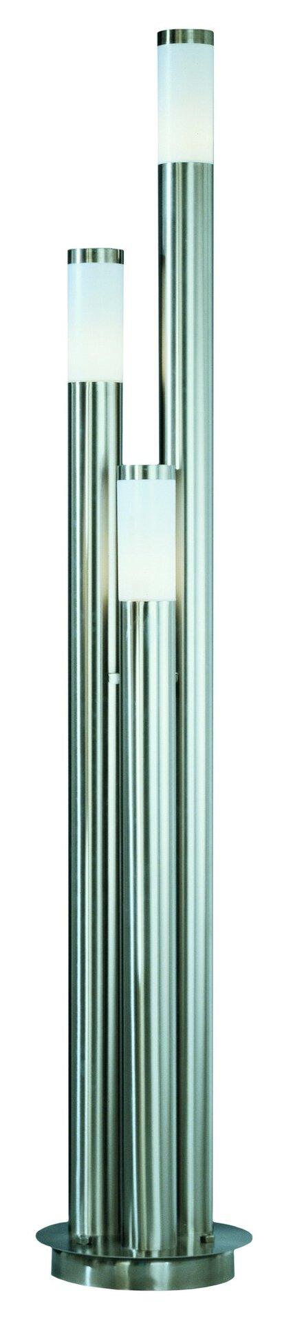 Wege-Außenleuchte BOSTON Globo Metall 28 x 170 x 28 cm