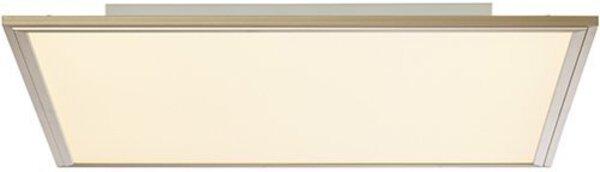 Deckenleuchte Brilliant Metall nickel ca. 60 cm x 5 cm x 60 cm