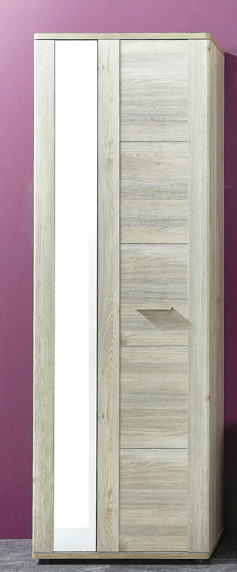 Garderobenschrank PETRINA Vito Holzwerkstoff mehrfarbig 38 x 198 x 66 cm