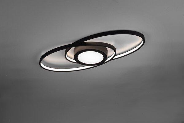 Deckenleuchte Reality Leuchten Metall anthrazit ca. 23 cm x 4 cm x 57 cm