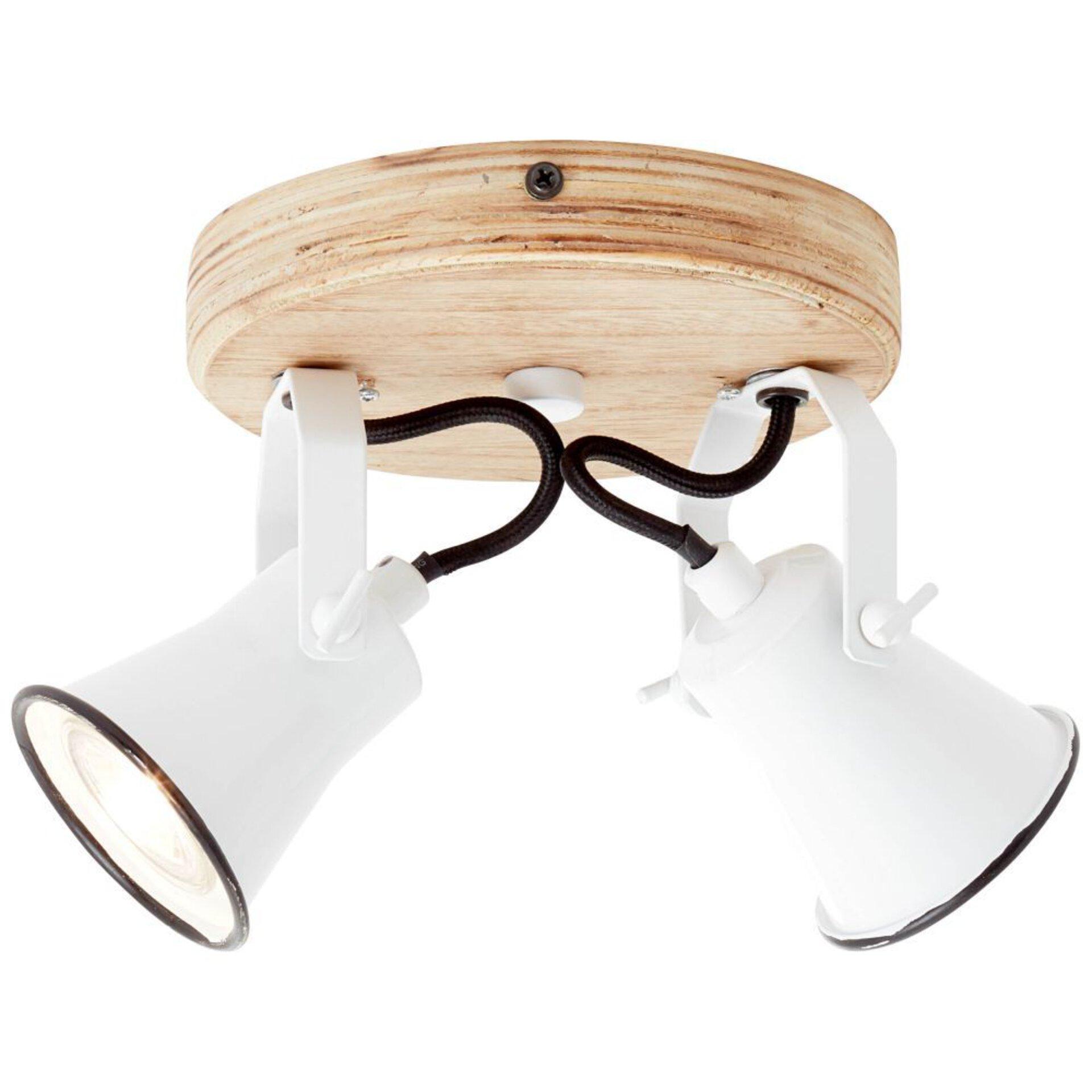 Strahler SEED Brilliant Holz 23 x 13 x 16 cm
