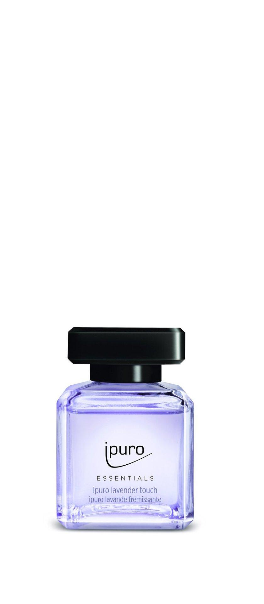 Raumduft lavender touch ipuro Kunststoff transparent